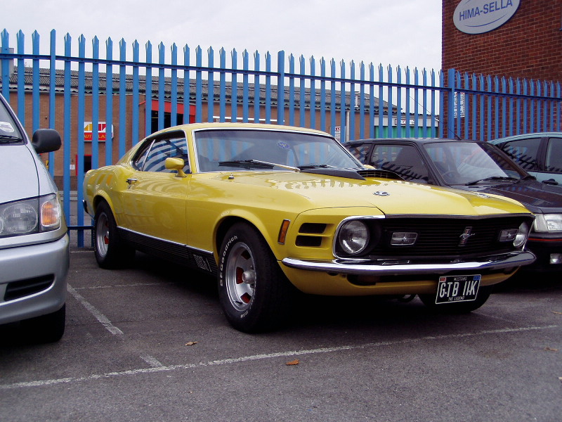 American Cars at their best - yanktanks.com - Ford Mustang pictures
